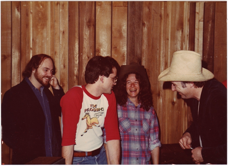 Dave Perkins, Freddy Krc, Carole King, Jerry Jeff Walker