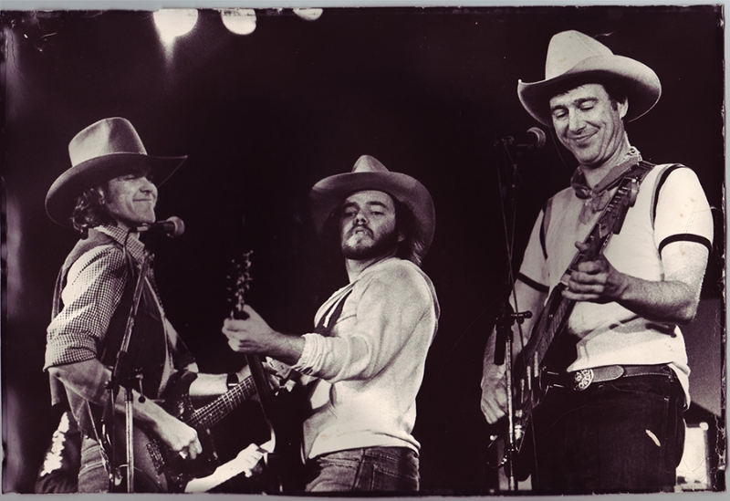 Guy Clark, Dave Perkins, Jerry Jeff Walker